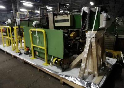 Zabalení stroje a nakládka