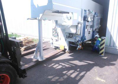 instalace pracovní linky 4